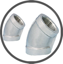 45° Elbows Banded Equal Pipe Fittings