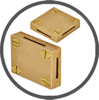 Brass Bronze Tape Clamps