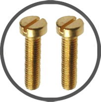 Brass Cheese Head Screws