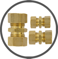 Brass Compression Union
