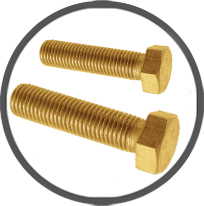 Brass DIN 933 Hex Head Bolts