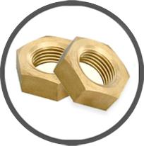 Brass DIN 934 Full Nuts Brass Hex Nuts Nuts