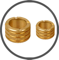 Brass Inserts Female plastic moulding Inserts for CPVC Fittings