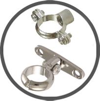 Chrome Cast Brass Screw-on Brass Munsen Rings