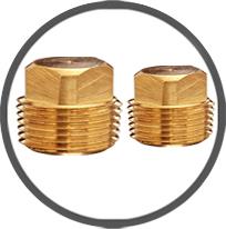 Brass Plugs Stop Plugs Square Hex Plugs