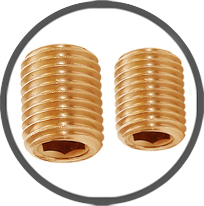 Brass Socket Grub Screws