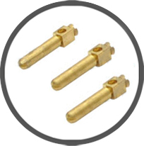 Brass Square Socket Pin