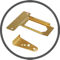 Brass Stamped Parts Components