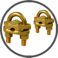 Brass U Type GUV Cable Clamps