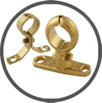 Cast Brass Screw-on