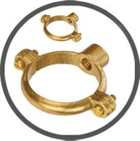 Cast Brass Single Ring