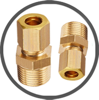 Compression Male Connectors