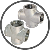 Crosses Banded Equal Pipe Fittings
