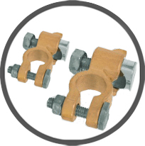 European Brass Battery Terminals