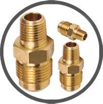 Brass Flare Connectors
