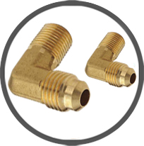 Brass Flare Elbow