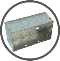 Switch and Socket Steel Boxes