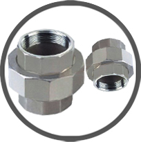 Unions B/W Pipe Fittings